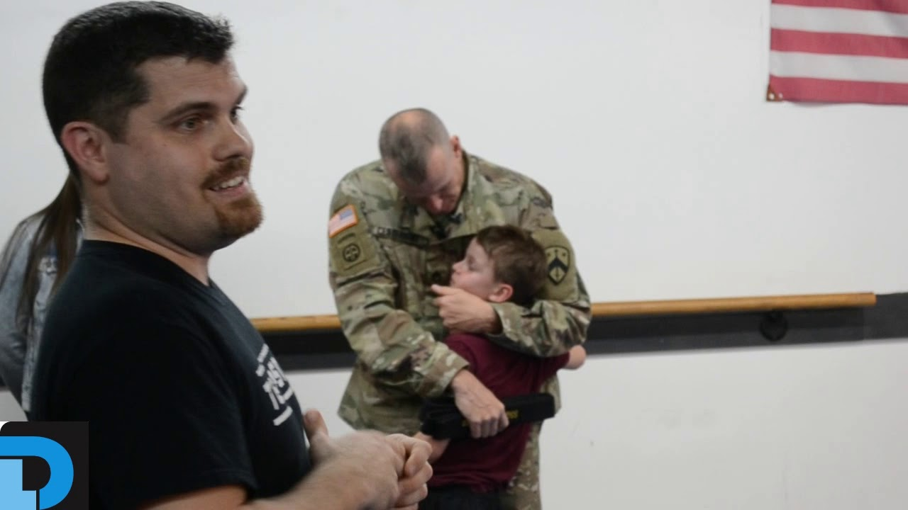 Father surprises son after nearly yearlong deployment | Lebanon Democrat