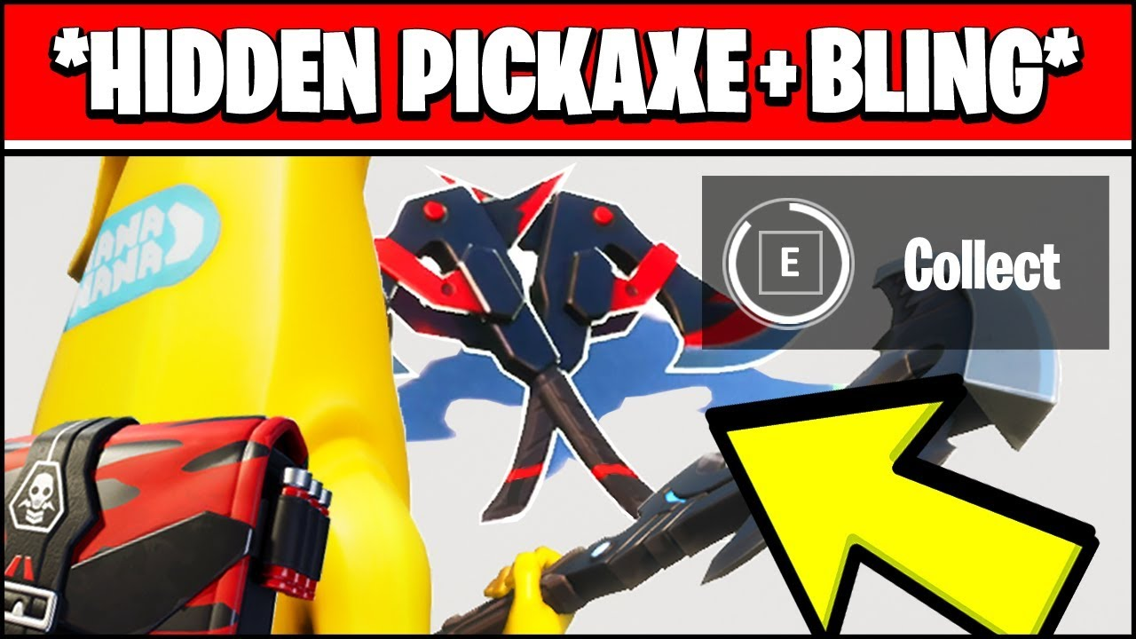 [VIDEO] - FIND THE BACK BLING & PICKAXE HIDDEN LOCATIONS - SORANA OUTFIT CHAOS RISING (Fortnite) 2