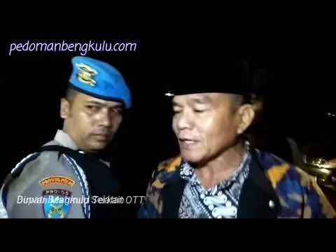 OTT, Dirwan Mahmud Bupati Bengkulu Selatan dibawa ke Mapolda Bengkulu