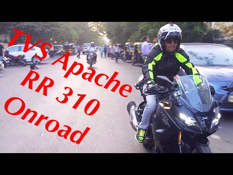 Test Ride For TVS Apache RR 310