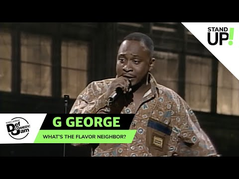 G. George Has The Gift of Gab   Def Comedy Jam   Laugh Out Loud Network