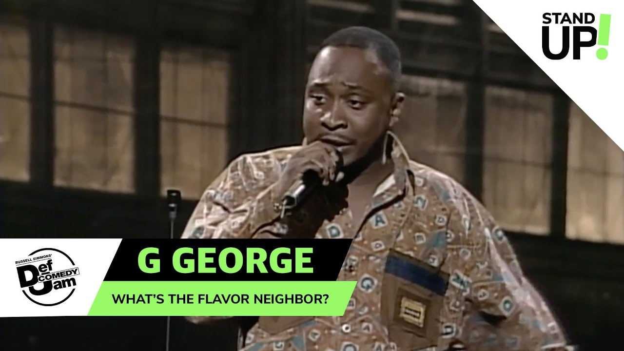 G. George Has The Gift of Gab | Def Comedy Jam | LOL StandUp!