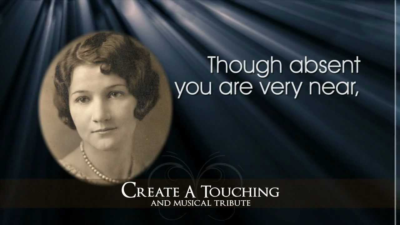 memorial presentations and funeral tributesmemory magic - youtube, Presentation templates
