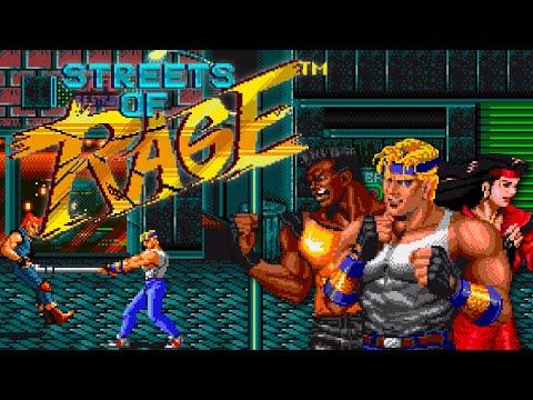 Streets Of Rage (1991) [Sega Genesis] Complete Playthrough