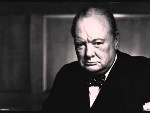 Sir Winston Churchill - From Stettin to Trieste, an iron curtain has descended across the Continent