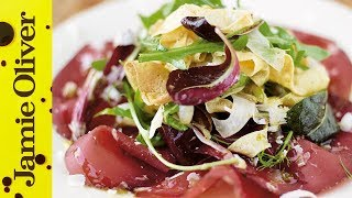 Omelette Salad & Bresaola - Jamie at Home