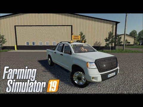 Farming Simulator 19- Pickup 2014 Transport Service