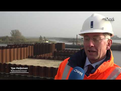 Roggebotsluis bij Kampen krijgt opvolger: bouw Reevesluis is begonnen