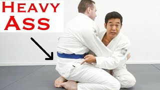 How To Butterfly Sweep Big Guys | This ONE Tip Leveled Up My Butterfly Guard Game