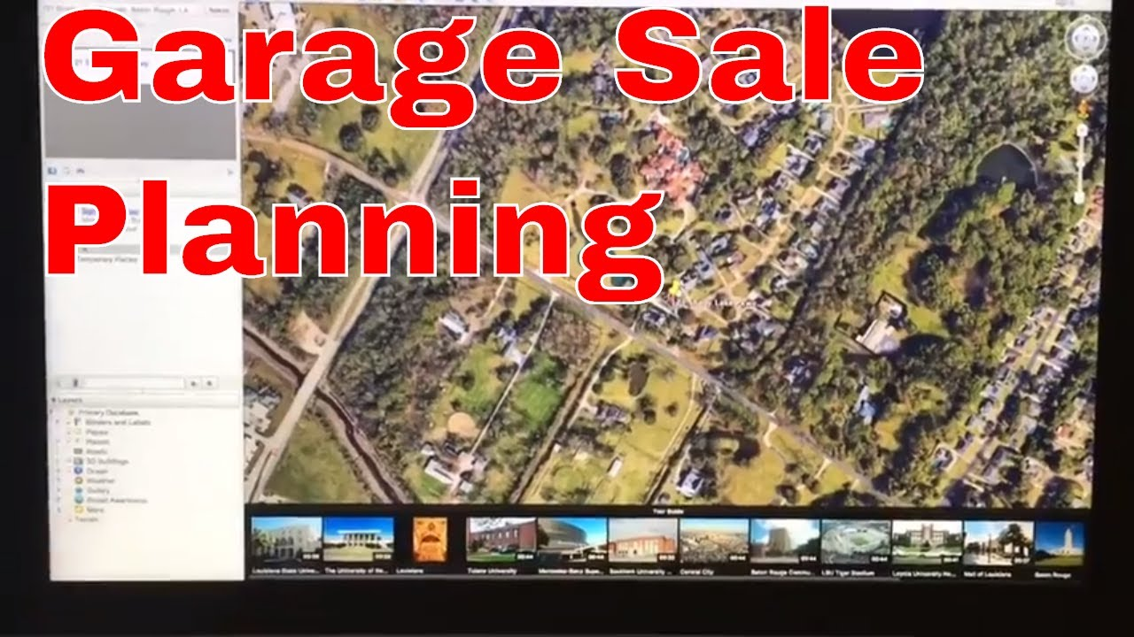 The night before how I plan for garage sales YouTube – How To Plan A Garage Sale