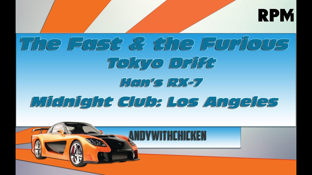 How to make full tutorial midnight club l a the fast the furious tokyo drift rx 7 youtube