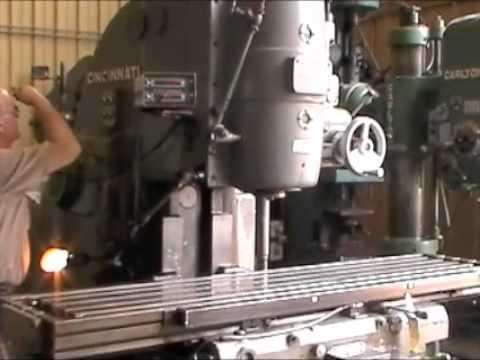 4 Cincinnati Vertical Milling Machine