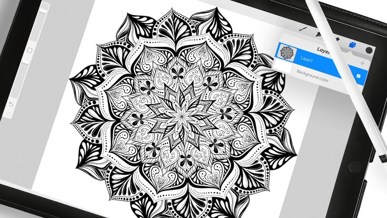 How To Extract Line Art for Colouring on the iPad - YouTube