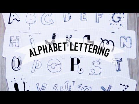 26 Designs~ Alphabet Lettering | Doodles By Sarah