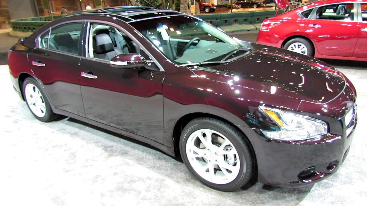 2014 Nissan Maxima   Exterior And Interior Walkaround   2014 Chicago Auto  Show