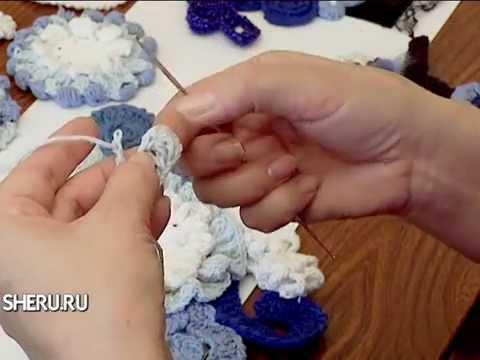 вязание крючком в технике фриформ Crochet In The Technique Friform