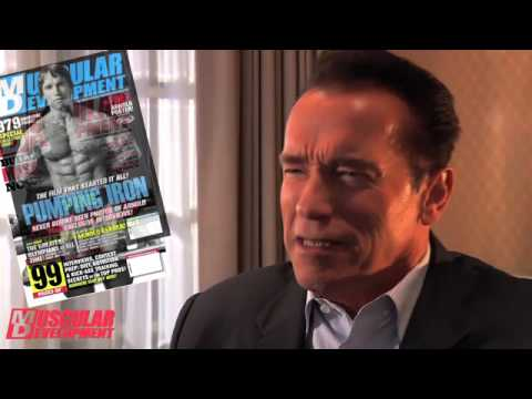 Arnold Schwarzenegger Praises Muscular Development Magazine