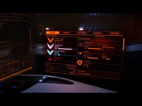 Elite Dangerous: Becoming a Rear Admiral