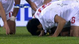 Egypt vs Italy in FIFA Confederations Cup South Africa 2009