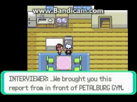 PRG : pokemon emerald ตอนที่ 1 เลือกโปเกมอนตัวเเรก