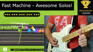 """Alexis Yousician - """"Fast Machine"""" Gold Star Awesome Solos!"""