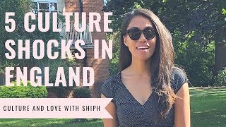 5 Culture Shocks In England!