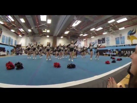 Glen Rock High School Winter Varsity Cheerleaders 2016
