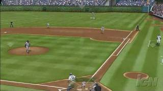 Major League Baseball 2K7 Xbox 360 Gameplay - Cubs