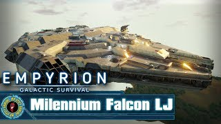 Millennium Falcon LJ by Matagal -  Empyrion: Galactic Survival Workshop Showcase