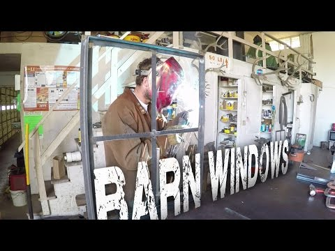 Barn Door Windows