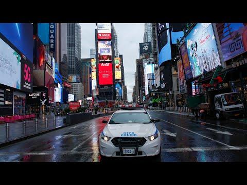 Кризис в Нью-Йорке