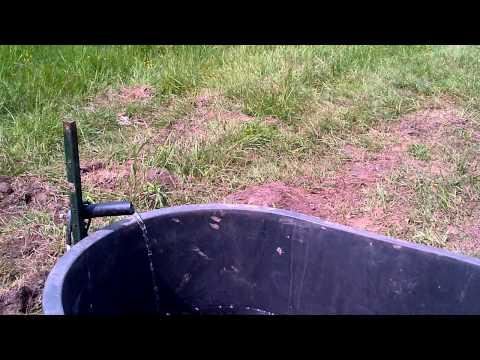 Solar Powered Livestock Watering System