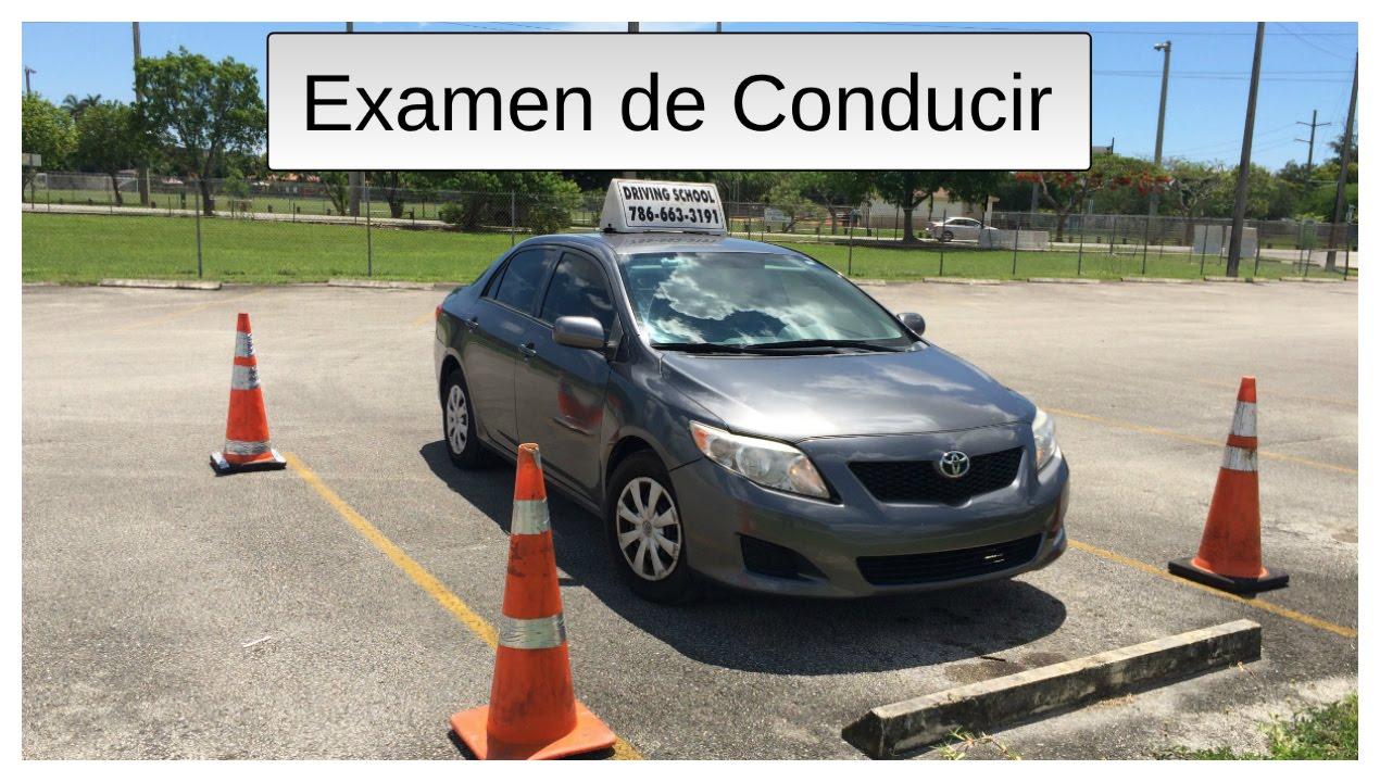 COMO CONDUCIR EN UN EXAMEN PRACTICO DE LICENCIA DE MANEJO - YouTube