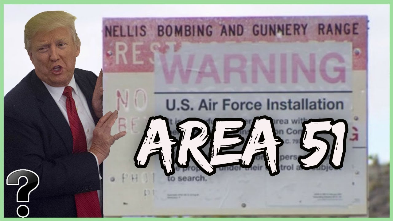 Image result for donald trump area 51