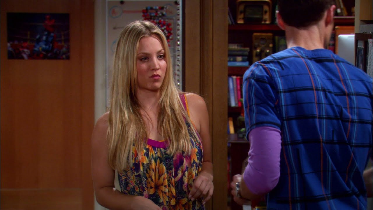 The Big Bang Theory - Penny Discuss Sex With Sheldon - Youtube-6784