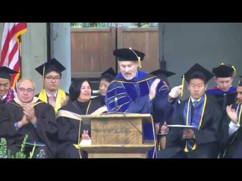 Berkeley-Haas Undergraduate Commencement Ceremony 2015