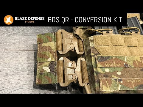 Blaze Defence - DBS QR - Plate Carrier Quick Release System
