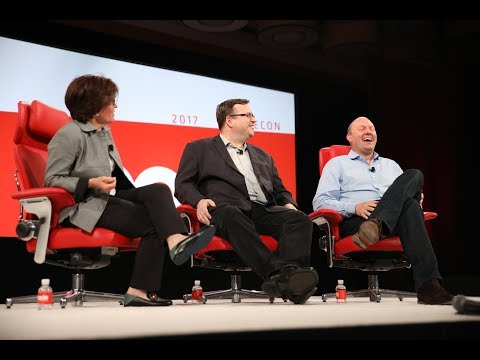 Live interview: Marc Andreessen and Reid Hoffman, Co-Founder of LinkedIn | Code 2017