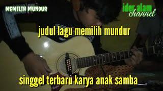 Download Vidio rekaman karya anak samba memilih mundur