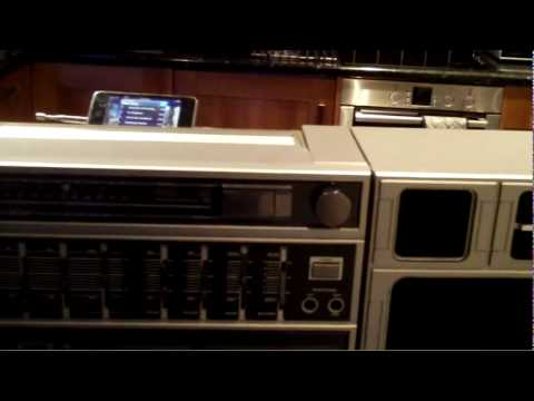 Philips d8644 boombox ghetto blaster ipod youtube - Philips ghetto blaster ...