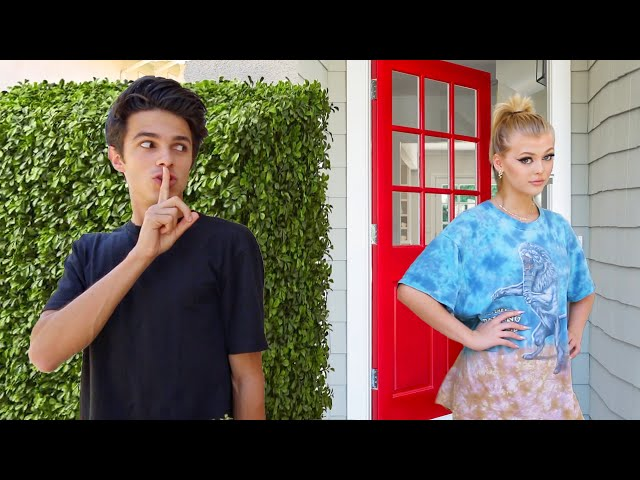 DING DONG DITCHING FAMOUS TIKTOKERS!! - Brent Rivera