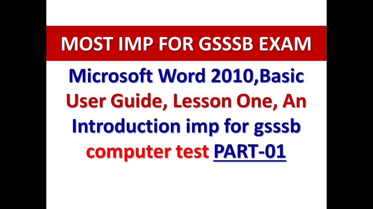 microsoft word 2010 basic user guide lessonone an introduction