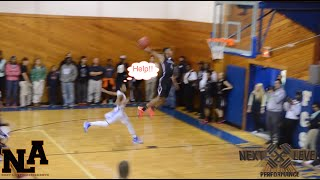 Dennis Smith Jr. silences all doubt with multiple highlight dunks in opener!!!