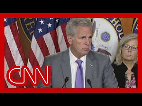 House GOP leader responds to Trump's racist attacks