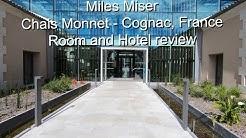 Hotel Chais Monnet Room Review - Cognac, France