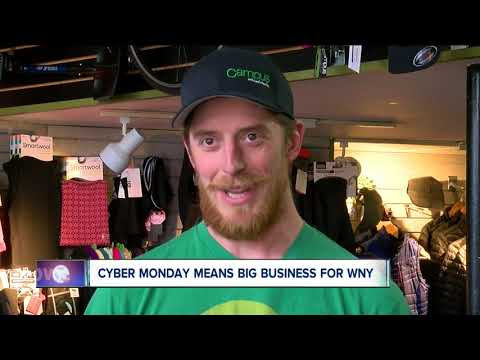 Cyber Monday means more business for WNY