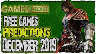 Xbox Games With Gold December 2019 Predictions | Xbox Live Free Games December 2019