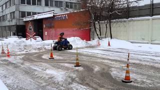 Сдача вождения на квадроцикл.ул.Академика Скрябина