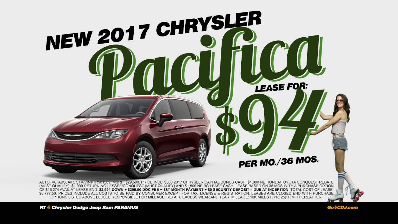Route 4 Chrysler Dodge Jeep Of Paramus June 2016   Pacifica