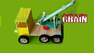 How to Make a Crane  - Awesome Crane
